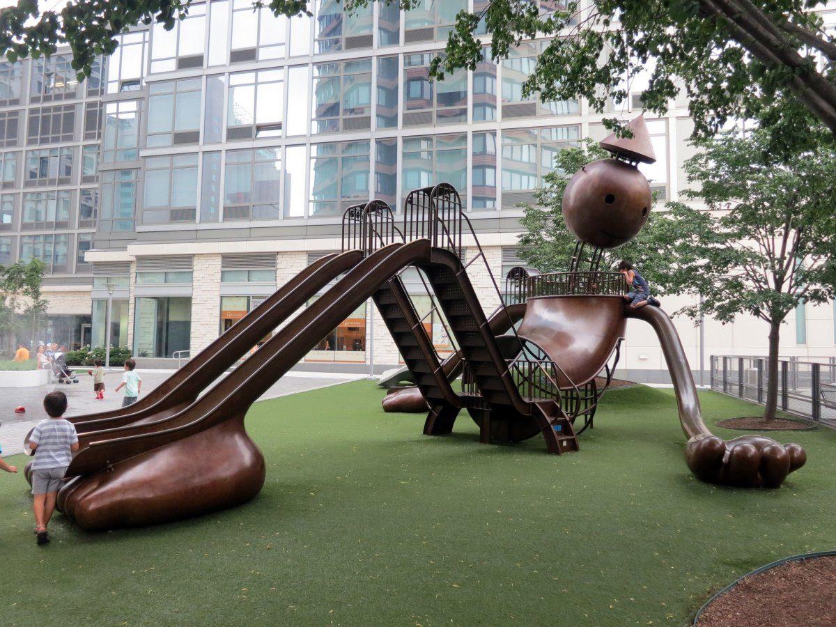Impresionantes parques infantiles diseñados por arquitectos