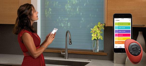 Hunter Douglas lanza un sistema de cortinas inteligentes