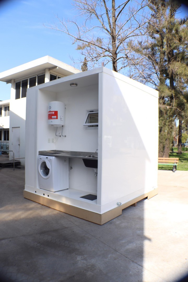Módulos sanitarios prefabricados para viviendas